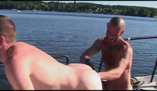 Fisting On The Boat