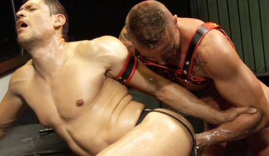 Fisting, Bareback and Leather – Scene 1