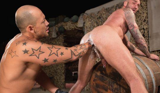 Jordano Santoro Fists Drew Sebastian – Part 1