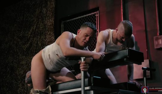Hugh Hunter Fists Matt Wylde and Ashley Ryder – Part 2
