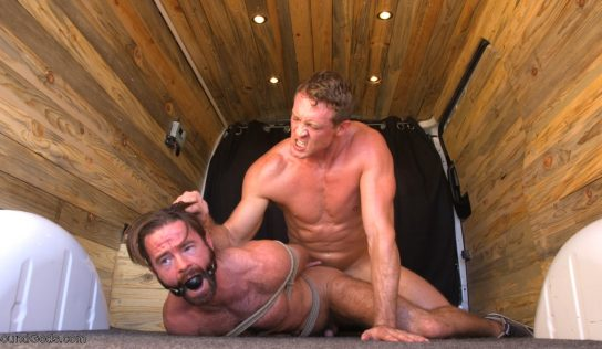 Abducted, Bound and Pounded: Brendan Patrick and Pierce Paris