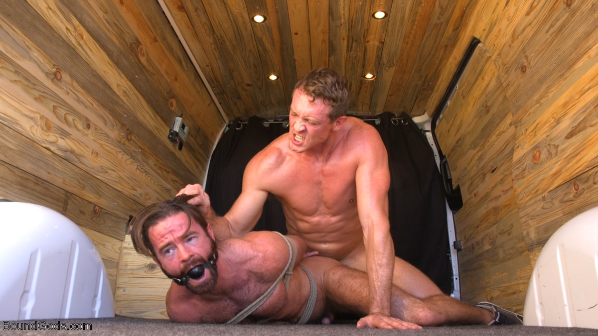 Abducted, Bound and Pounded: Brendan Patrick and Pierce Paris 1