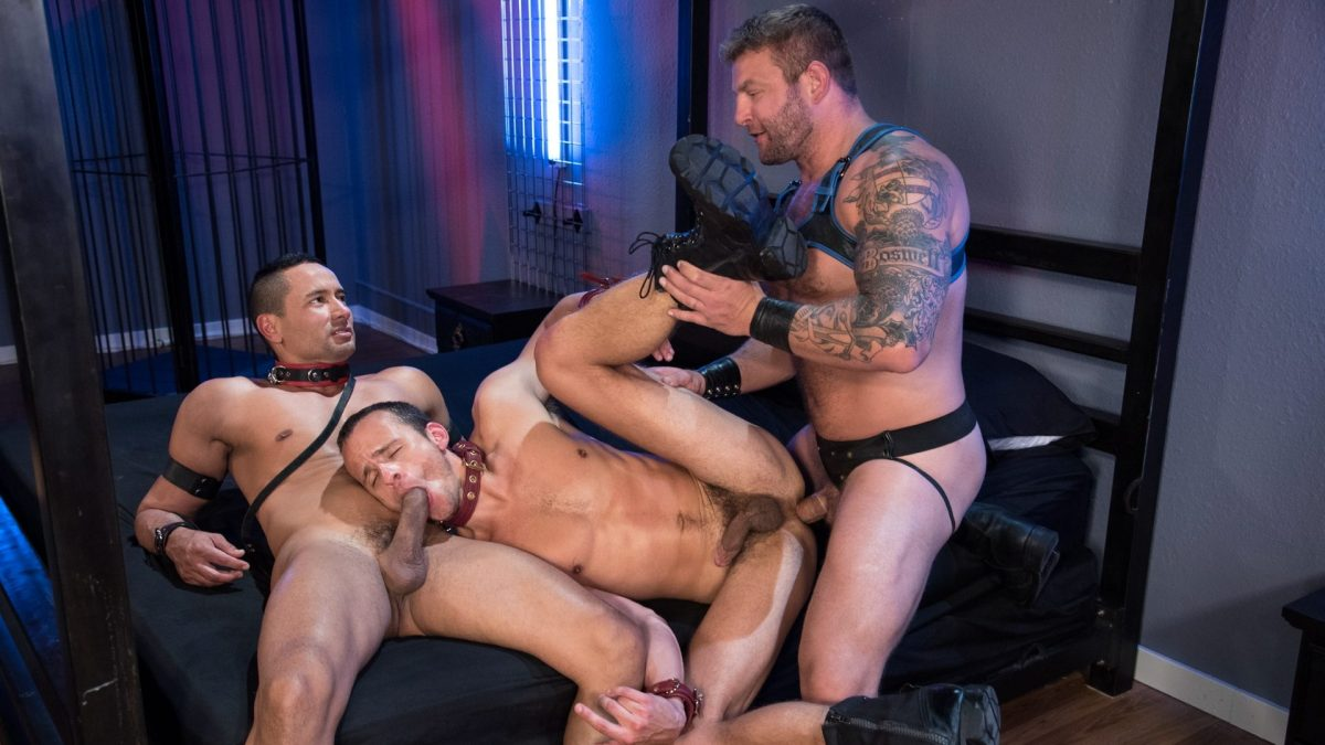 Fetish Findr - Scene 4: Nate Grimes, Gabriel Dalessandro and Colby Jansen 1