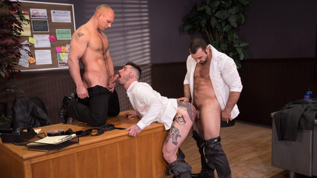Sexual His ASSment - Scene 1: Jaxton Wheeler, Teddy Bryce and John Magnum 1