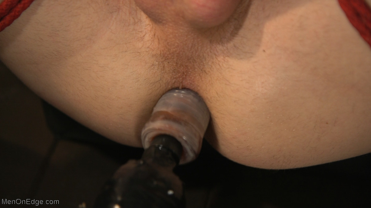 Zak Bishop dildo fucked