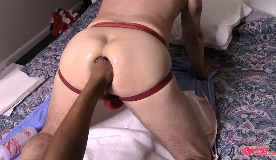 Juan Direccion Takes A fisting Fuck And Bareback By Jay Evil