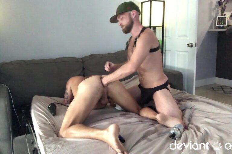 Deviant Otter Destroys A Gay Fisting Bottom