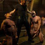 Leather Domination: Sebastian Keys Abuses Mason Lear & Draven Navarro