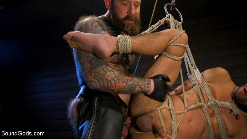 Hairy Leather Daddy Jack Dixon Torments Chance Summerlin 2