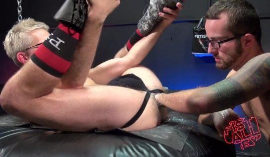 Jay Donahue Fist Fucks Sherman Maus – Part 1
