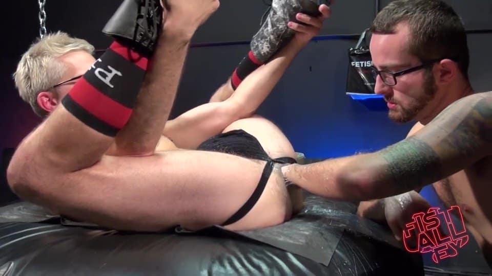 Jay Donahue Fist Fucks Sherman Maus - Part 1 2