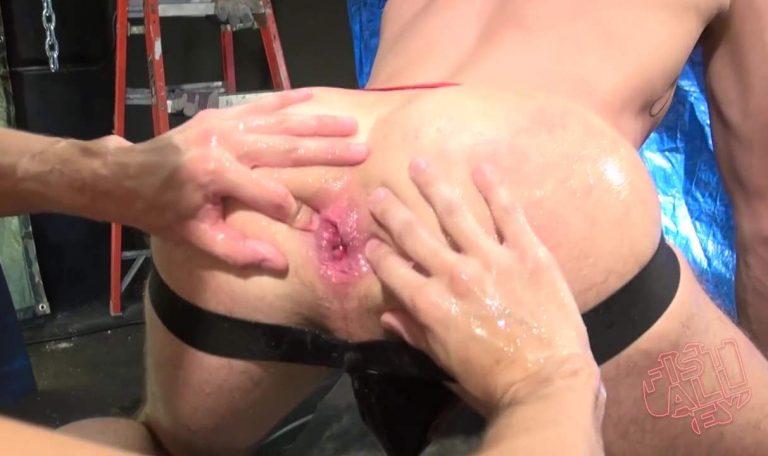 Scott DeMarco Fist Fucks Drew Dixon - Part 1 4