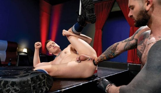 Teddy Bryce, Brian Bonds and Axel Abysse – Fisting Theater