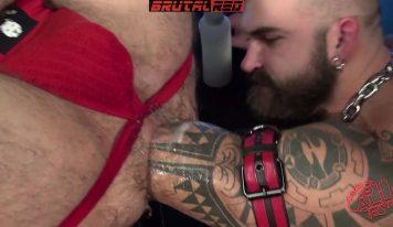 HungerFF and Jonah Fontana – Shoulder Deep Gay Fisting