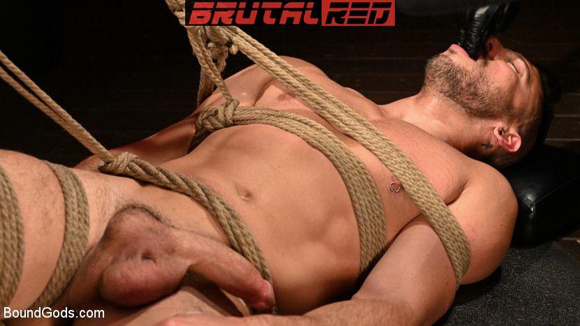 Sebastian Keys, Shane Jackson and Dominic Pacifico - Gay BDSM for Boundgods 5