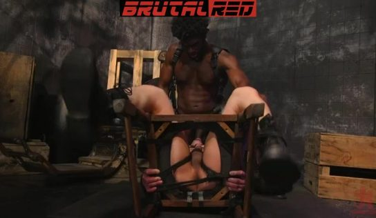 Leather Bondage: Devin Trez Torments Jeremy Spreadums