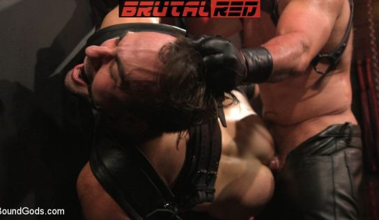Leather Daddy Dale Savage Punishes Mason Lear