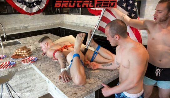 Men On Edge: Zak Bishop Edged By Sebastian Keys & Brodie Ramirez