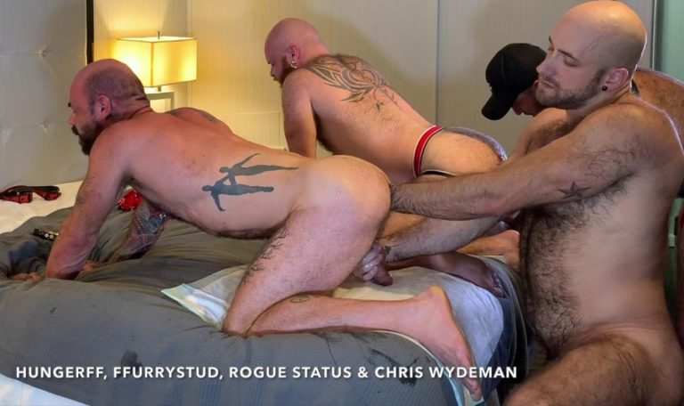 Shoulder Deep Fisting With HungerFF, FFurryStud, Rogue Status & Chris Wydeman 3