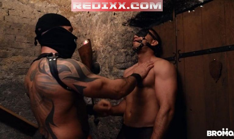 Leather Daddy Bruno Turbo Uses His Slave Dee 1