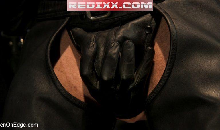 Leather Dream: Ricky Larkin Edged By Dillon Diaz 1