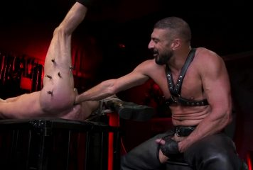 Leather Fisting: Marco Napoli & Dale Savage