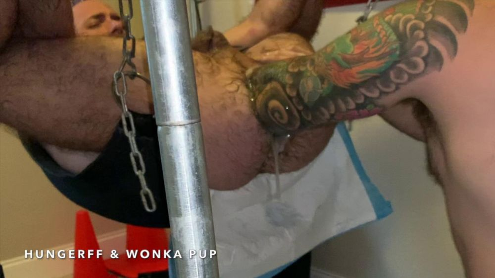Wonka Pup Fist Fucks HungerFF - Elbow Deep Fisting: Part 2 1