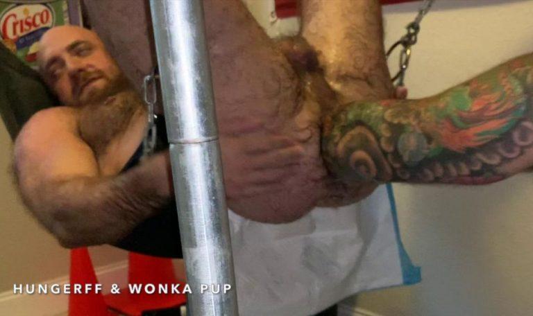 Wonka Pup Fist Fucks HungerFF - Elbow Deep Fisting: Part 2 3