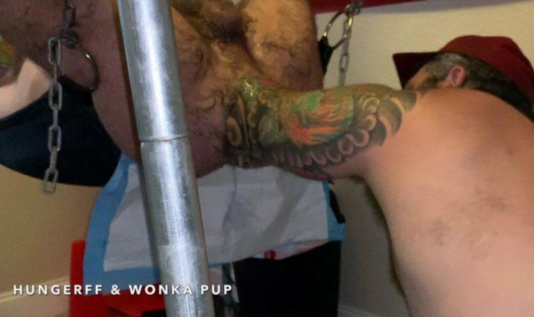 Wonka Pup Fist Fucks HungerFF - Elbow Deep Fisting: Part 2 4