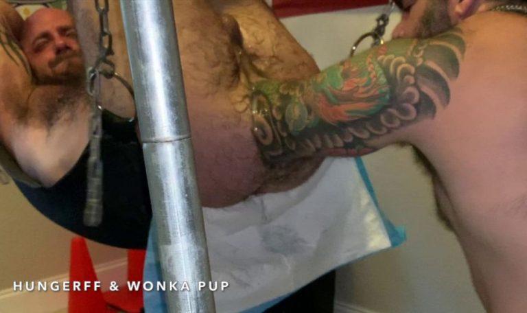Wonka Pup Fist Fucks HungerFF - Elbow Deep Fisting: Part 2 5
