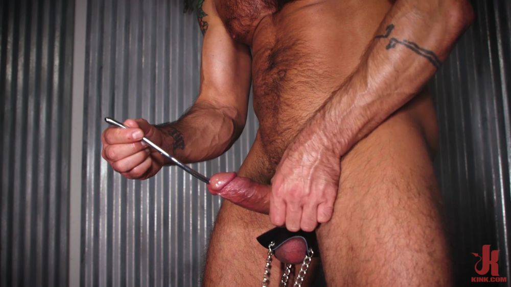 Dominic Pacifico - Dildo Machine & Cock Sounding 2