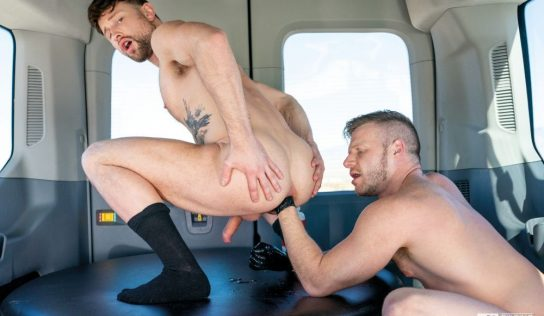 Drew Dixon Gets Fisted by Brian Bonds In The Fist Bus
