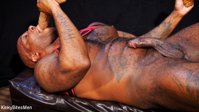 Hairy Micah Martinez Pleases Himself With Big Dildos 5