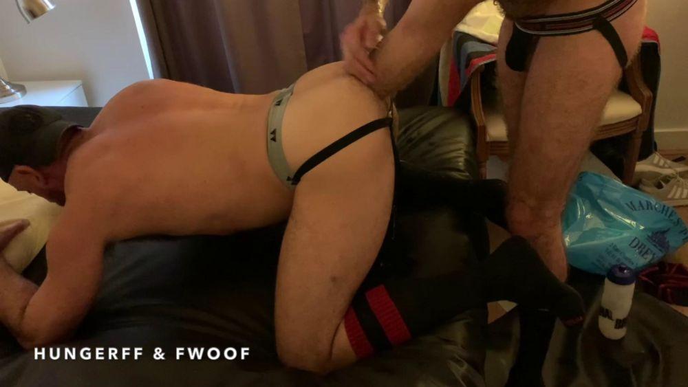 HungerFF Fist Fucks A Hot Daddy