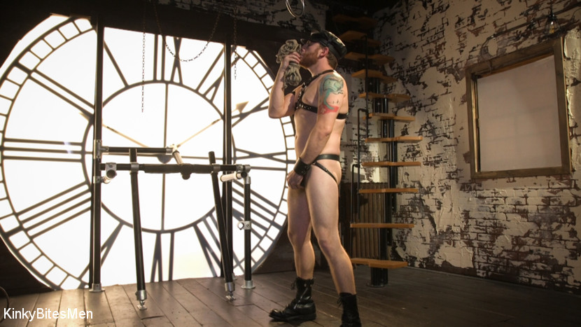 Sebastian Keys - Leather & Dildo BDSM Solo 1