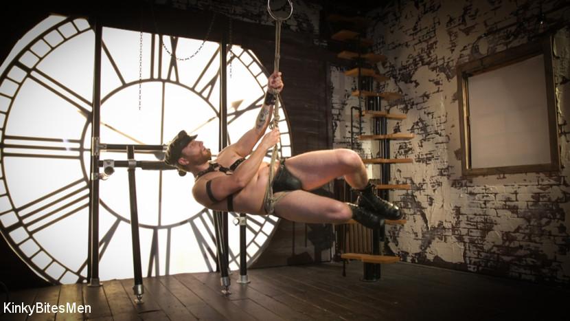 Sebastian Keys - Leather & Dildo BDSM Solo 2