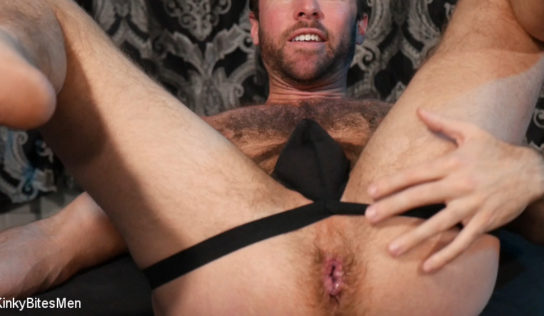 Alex Hawk Pleases Himself With Big Dildos