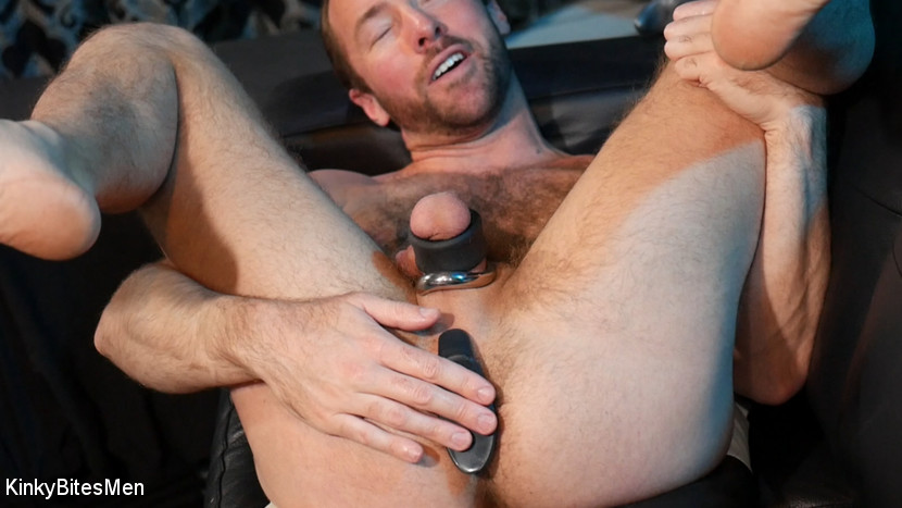 Alex Hawk Pleases Himself With Big Dildos 5
