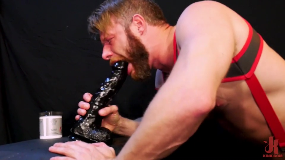 Brian Bonds Pleases Himself With Big Dildos 2