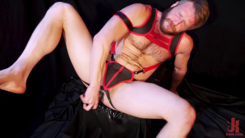 Brian Bonds Pleases Himself With Big Dildos 4