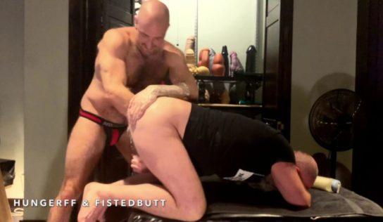 HungerFF Punch Fucks Daddy FistedButt