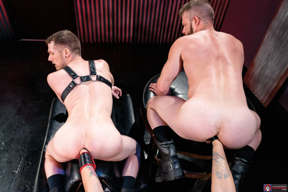 Mike Monroe Fist Fucks Brian Bonds & Alex Killian Deep In The Club 2