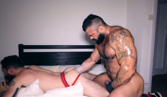 Rogan Richards Fist Fucks CJ