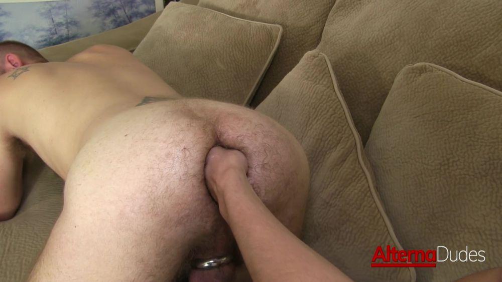 Deep Gay Fisting: Maxx Stoner Fist Fucks Josh Mikael 3