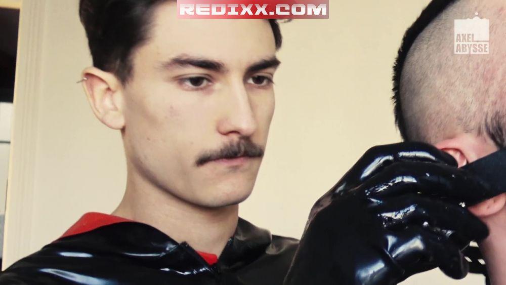 Pierre Rubberax Shaves & Fist Fucks David Luca 3