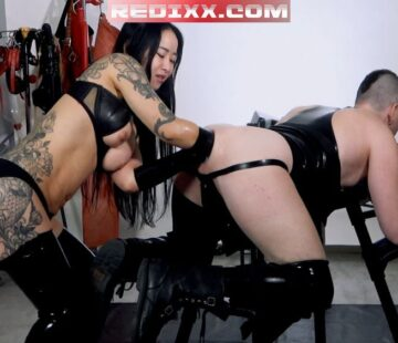 Exposure 1: Mistress Hinako Double Fisting Axel Abysse
