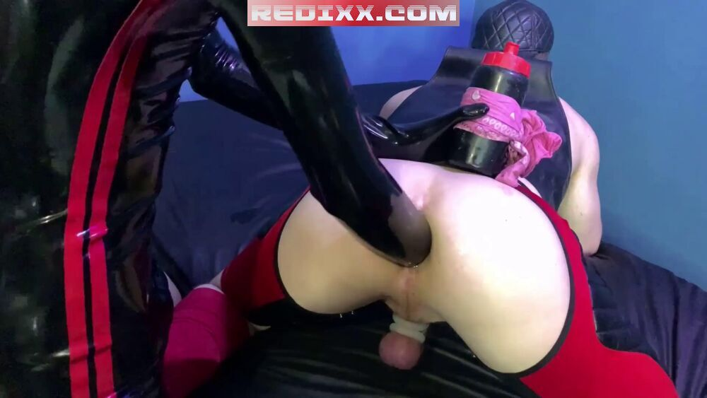 Ashley Ryder's Gaping Rosebud Filled With Cock & Fist 4
