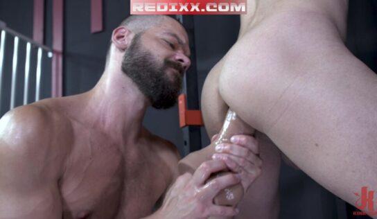 Jack Beam Wrecks Alessio Vega With Dildo & Raw Cock