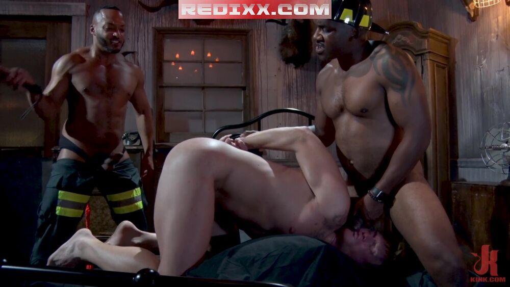 Sadistic Firemen Smash Thompson & Dillon Diaz Plow Roman Eros 2